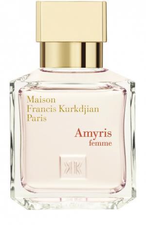 Парфюмерная вода Amyris Maison Francis Kurkdjian. Цвет: бесцветный