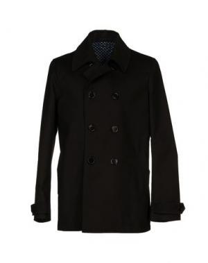 Легкое пальто MM BY MARIOMATTEO. Цвет: черный