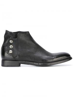 Ботинки Sasha Alberto Fasciani. Цвет: чёрный