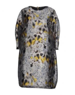 Короткое платье GUGLIELMINOTTI. Цвет: серый