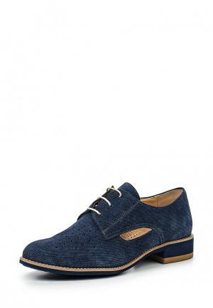 Ботинки Shoobootique. Цвет: синий