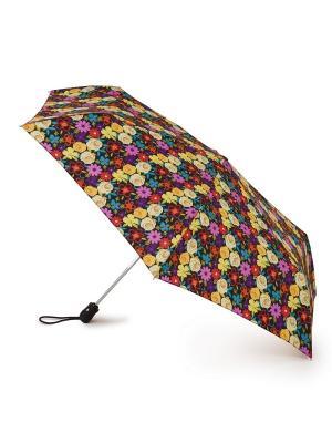 Зонт женский автомат Fulton. Цвет: желтый