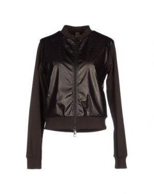 Куртка JIJIL. Цвет: темно-коричневый