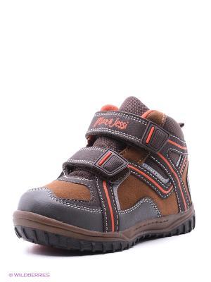 Ботинки Kari. Цвет: коричневый