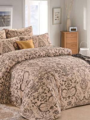 Комплект постельного белья, Герда , 1.5 спальный KAZANOV.A.. Цвет: бежевый