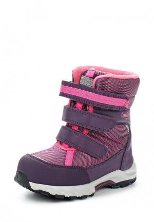 Ботинки Lassie. Цвет: фиолетовый