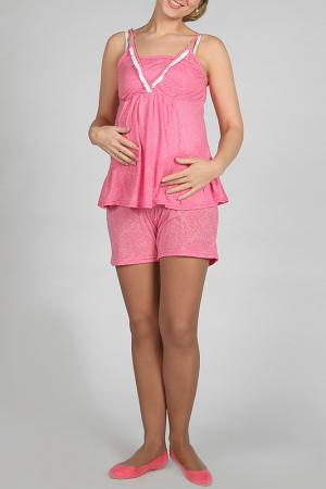 Комплект с шортами РусМар. Цвет: розовый