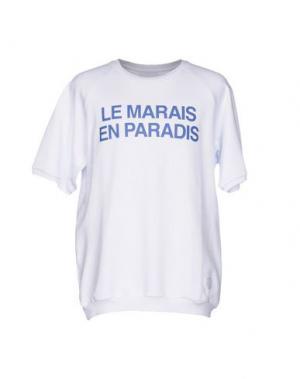 Толстовка GAëLLE Paris. Цвет: белый