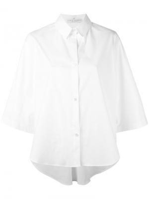 Рубашка свободного кроя Lucio Vanotti. Цвет: белый