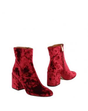 Полусапоги и высокие ботинки BIANCA DI. Цвет: красно-коричневый