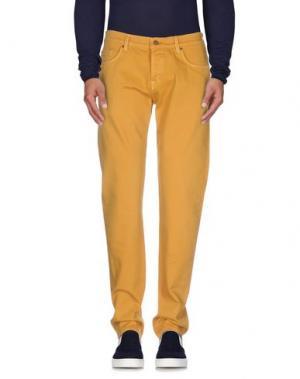 Джинсовые брюки 7 FOR ALL MANKIND. Цвет: охра