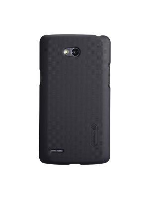 LG L80 (D380) Nillkin Super Frosted Shield. Цвет: черный