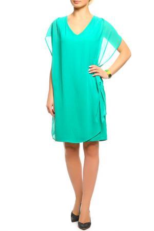 Платье SEVENTY. Цвет: зелёный