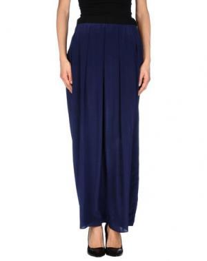 Длинная юбка INNAMORATO. Цвет: синий