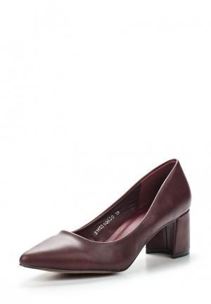 Туфли Sweet Shoes. Цвет: бордовый