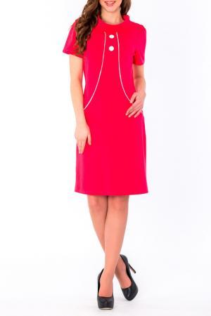 Платье S&A style. Цвет: малиновый