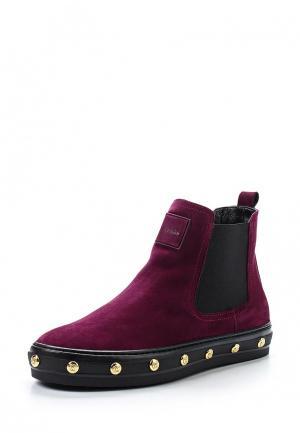 Ботинки Baldinini. Цвет: бордовый