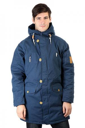 Куртка парка  Cold City Navy TrueSpin. Цвет: синий