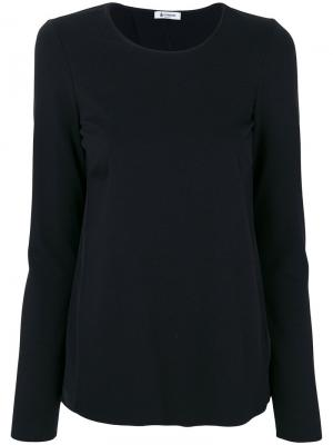 Блузка с открытой спиной Dondup. Цвет: чёрный