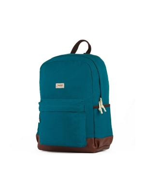 Рюкзак ЗАПОРОЖЕЦ Small Daypack. Цвет: синий, коричневый