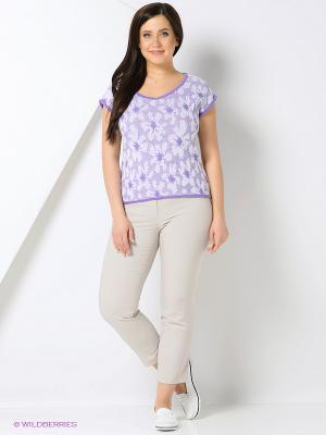 Джемпер Milana Style. Цвет: сиреневый