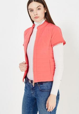 Куртка утепленная Armani Exchange. Цвет: розовый
