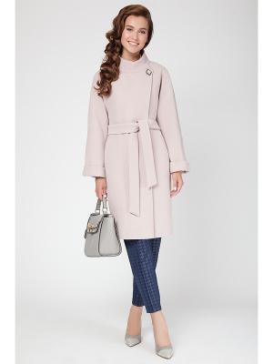 Пальто Electrastyle. Цвет: персиковый