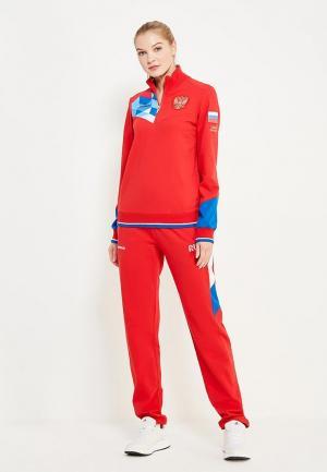 Костюм спортивный Forward. Цвет: красный