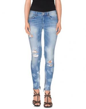 Джинсовые брюки SLY010. Цвет: синий