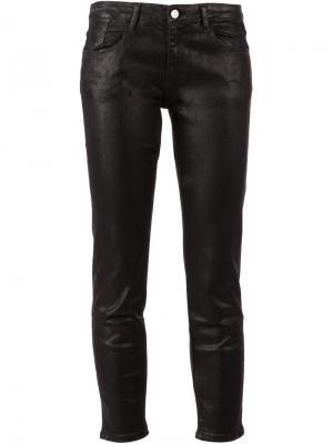 Узкие джинсы скинни Aarcc. Цвет: чёрный