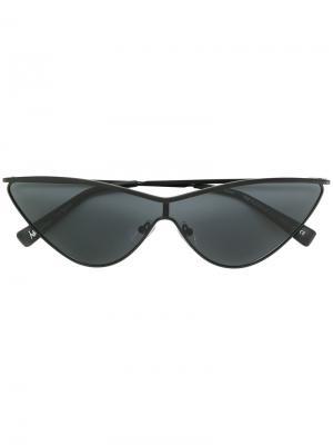 Fugitive sunglasses Le Specs. Цвет: чёрный