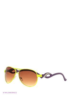 Солнцезащитные очки Vittorio Richi. Цвет: салатовый, сиреневый