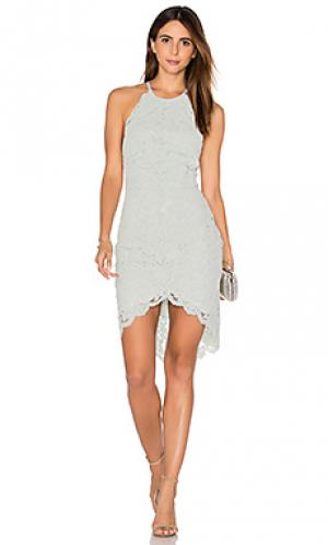 Платье холтер affinity Lover. Цвет: мята