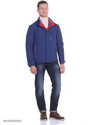 Зимняя куртка Malinardi. Цвет: индиго
