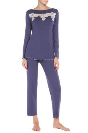 Пижама Exilia. Цвет: фиолетовый(bluette)