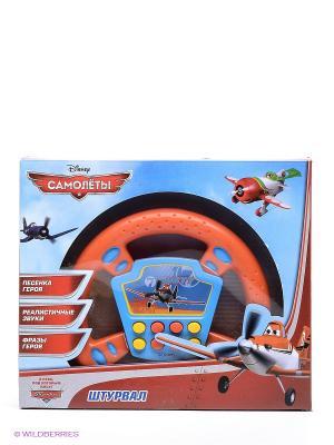Руль Самолеты Играем вместе. Цвет: оранжевый, желтый, синий
