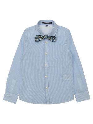 Рубашка Aston Martin. Цвет: серо-голубой