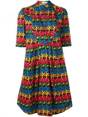 Платье Daisy Peter Jensen. Цвет: многоцветный
