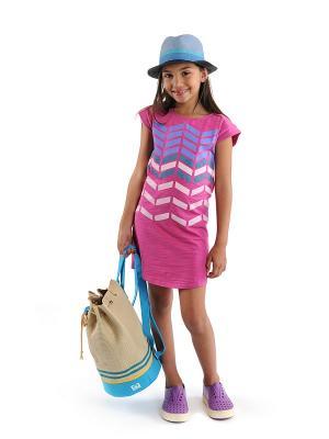 Платье Appaman. Цвет: фуксия