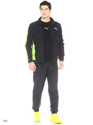Костюм спортивный  Flash Woven Suit op Puma. Цвет: черный