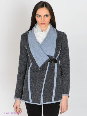 Пальто Klimini. Цвет: серый