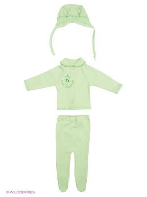 Комплекты одежды для малышей Русь симбирская. Цвет: салатовый