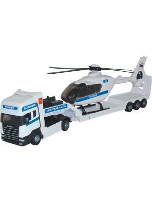 Машина Scania transport AUTOTIME. Цвет: белый
