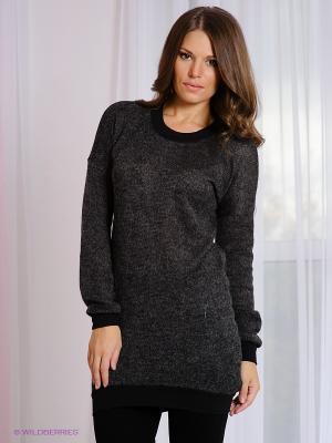 Платье MELANY. Цвет: темно-серый
