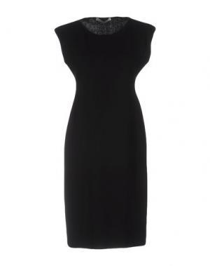 Платье до колена GENTRYPORTOFINO. Цвет: черный