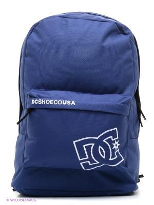Рюкзак DC Shoes. Цвет: темно-синий, серый, темно-фиолетовый