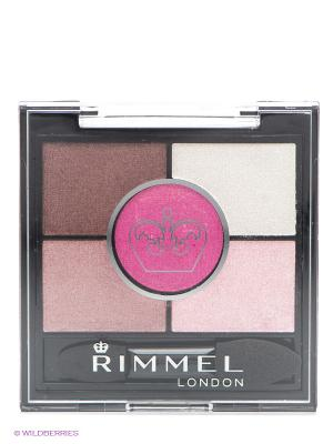Тени для век, № 024 Rimmel. Цвет: розовый, белый