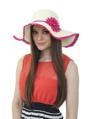 Шляпа Gusachi. Цвет: белый, фиолетовый