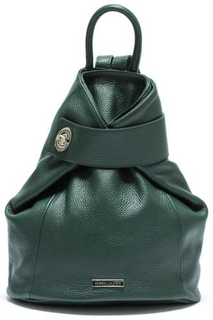 Рюкзак ANNA LUCHINI. Цвет: green
