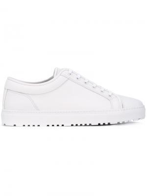 Кроссовки на шнуровке Etq.. Цвет: белый
